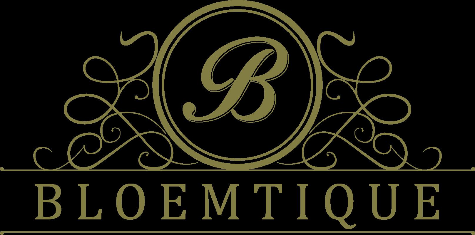 Logo Bloemtique Bloemen Contouren
